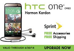 Category Feature HTC One Sprint Ad