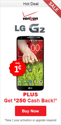 Feature LG G2 Verizon Ad
