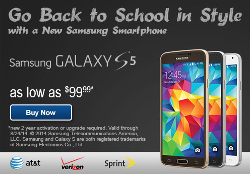 Hero Back To School Galaxy S5 Ad