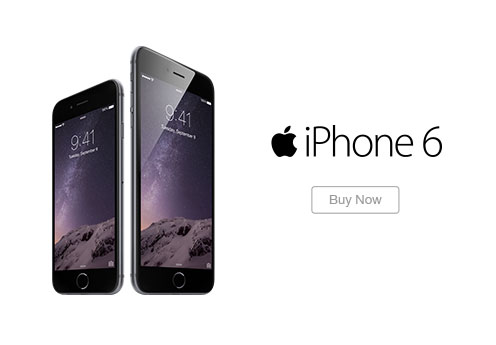 Hero iPhone 6 Buy Now Ad